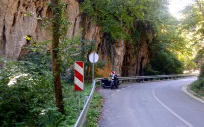 Auf dem Weg nach Slowenien